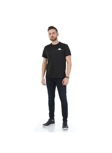 Kappa Poly T-Shirt Bıssy  Siyah